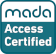 National website approval - mada, digital access accreditation, 2020
